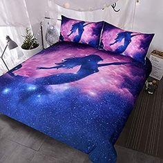 Comforter Cover, Bed Duvet Covers, Duvet Bedding, Comforter Sets, Duvet Cover Sets, Boho Bedding, King Duvet, Mermaid Comforter, Galaxy Bedding