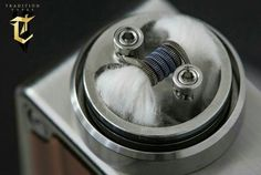 From our friend @vapingroybot  Trying out a different coil placement in the #StumpyRDA by @elementmods  #fusedclapton by @traditionvapes  #vaperazzi #elementmods #traditionvapes