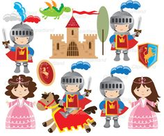 These images are funny! This listing includes: --------------------------------------------------------------------------- 1 Knights set with