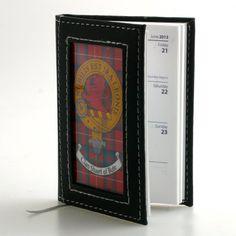 Clan Crest & Tartan Cover Notebook