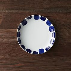 Como Tile Salad Plate | Crate and Barrel