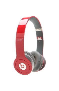 Mens Beats By Dre Outdoors & Tech - Beats By Dre Solo HD Red Headphones