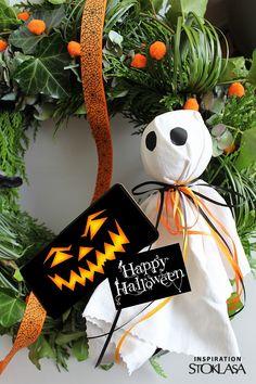STOKLASA Haberdashery Haberdashery, Mobiles, Happy Halloween, Wreaths, Christmas Ornaments, Holiday Decor, Fabrics, Inspiration, Halloween Kids
