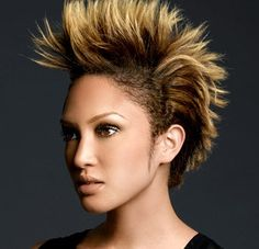 2013 Faux Hawk for girls