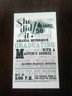 LOVE the wording... just need to make the bottom into a party invite rather than the ceremony