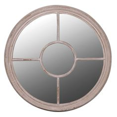 Round Window Wall Mirror from Victoria Jill French Furniture online Porthole Mirror, Window Mirror, Round Wall Mirror, Round Mirrors, Window Wall, Attic Window, Wall Mirrors, Mirror Mirror, French Walls