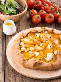 Tarte au potimarron et Roquefort : Recette de Tarte au potimarron et Roquefort - Marmiton