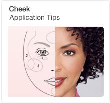 See new application tips for Mary Kay products