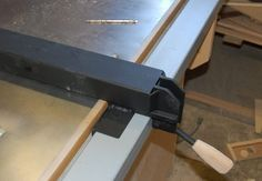 diy table saw fence plans - Google Search