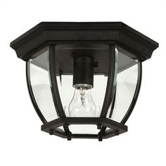Wildon Home ® Entryway 1 Light Flush Mount & Reviews   Wayfair