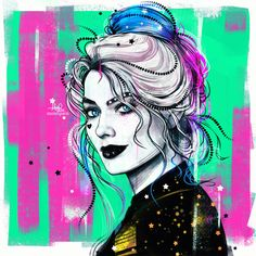 Call me Harley, everyone does Joker Und Harley Quinn, Harley And Joker Love, Der Joker, Harley Quinn Drawing, Harely Quinn And Joker, Harey Quinn, Bruce Timm, Dc Comics Art, Fan Art