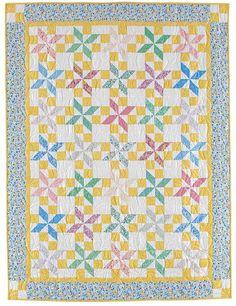 Ruby's Starflower Quilt Pattern