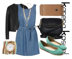 """KarenaKasual-Mi Blu"" by nesyagata on Polyvore"