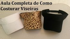 Cape Pattern, Lace Knitting Patterns, Visor Hats, Visors, Cute Hats, Summer Hats, Craft Videos, Craft Tutorials, Mascara