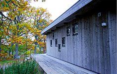 Skandinavisk Sommarvilla, fasad. #sommarnojen #sommarnöjen #archipelago #summerhouse