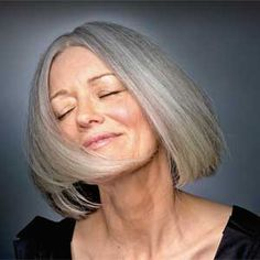 Gray hair could be a sign of good health!