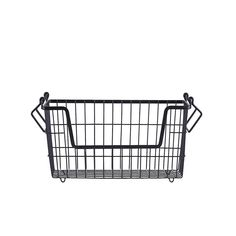 This metal storage basket is perfect for storing books, toys, magazines, or even display it full of fruit on your kitchen bench! Matte black in colour, these st Boy And Bird, Storing Books, Kitchen Benches, Storage Baskets, Matte Black, Metal, Magazines, Gifts, Display