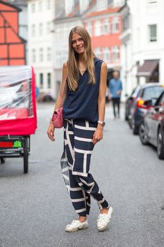 Copenhagen Fashion Week Street Style // Caroline Brasch Nielsen   - HarpersBAZAAR.com