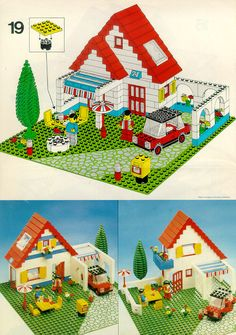 Lego building instructions