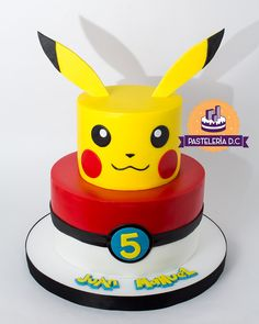 Discover recipes, home ideas, style inspiration and other ideas to try. Pokemon Torte, Pokemon Cake Pops, Pikachu Cake, Pokemon Party Decorations, Birthday Party Decorations Diy, Birthday Party Games, Boy Birthday, Pokemon Themed Party, Pokemon Birthday Cake