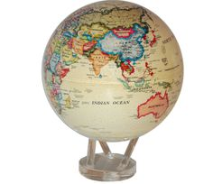 Antique Mova Globe Self Rotating