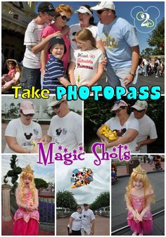 If you decide to purchase/use the Photopass at Walt Disney World, be sure to take this list of Photopass Magic Shots at Walt Disney World with you. When you approach a Photopass photographer, ask him if he can do Magic Shots. Some photographers know how to do them and some don't. I recommend that you ask each photographer because you might get a different answer each time.