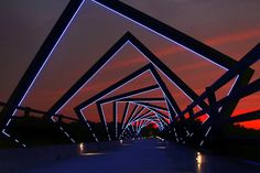 High Trestle Bridge, Iowa, USA
