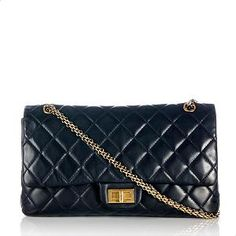 208eaa9a3ec Chanel Reissue 2.55 Quilted Lambskin Classic 227 Double Flap Shoulder Bag  Chanel Reissue