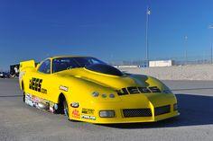 2012 NHRA Big O Tires Nationals, Troy Coughlin Sr. 2013 Pro Mod Corvette, Las Vegas, NV