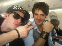 Michael Trevino and Steven McQueen. Steven Mcqueen, Michael Trevino, Green Tea And Honey, The Cw Shows, The Vampire Diaries 3, Nicholas Hoult, Famous Last Words, Delena, American Actors