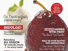 Mike's Kitchen - Delish The Dessert & Umbrella Drinks Menuzine