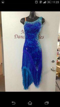 Fringe & sparkle - Great colour combo