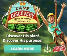 About the Children's Department: VBS 2015 Top Three - Camp Discovery from Concordia Publishing & Give-Away!
