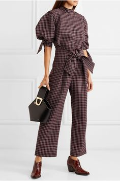 Spring Fashion 2020 Women - Trend Topic For You 2020 Stylish Dresses, Fashion Dresses, Checkered Outfit, Spring Fashion, Autumn Fashion, Danse Lente, Checker Pants, Romper With Skirt, Fashion 2020