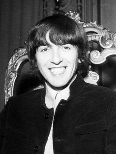 thateventuality:  George Harrison at The Beatles' press conference, Hotel Colombia, Genoa, Italy, 26 June 1965