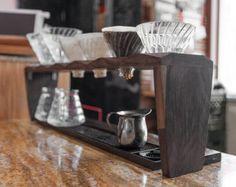 Despeje sobre o café Coffee Brewing Suporte para SIX gotejador