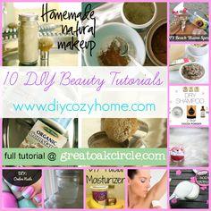 10 DIY Beauty Tutorials