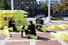 The habitually unheeded function of the humble city bench has been transformed; the purely practical purpose of this breed of public furniture has been entir...