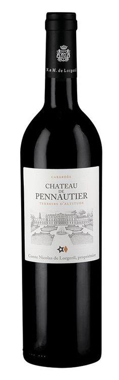 Château Pennautier 2009. PRECIO $189.  Un gran vino de estilo bordelés proveniente de la región de Languedoc- Rousillon, al sur de Francia.