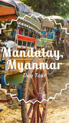 Day Tour Mandalay Myanmar Including Visiting U Bein Bridge, Inwa Town, A Monestary, A Beautiful Sunset And Many More | What to do in Mandalay | Best things to do in Mandalay | Mandalay photography |  Travel blog Mandalay | Backpackers Wanderlust | http://www.backpackerswanderlust.com/day-tour-mandalay-myanmar/