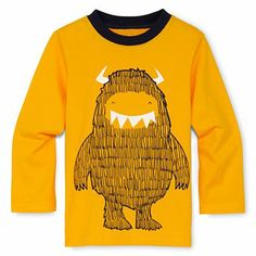 Okie Dokie® Long-Sleeve Graphic Tee - Boys 12m-6y - jcpenney