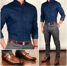 46 Stylish Formal Men Work Outfit Ideas To Change Your Style - Männer Mode - Outfits Formal Men Outfit, Men Formal, Mens Formal Shirts, Casual Outfit For Men, Work Outfit Men, Mens Semi Formal Wear, Black Shirt Outfit Men, Mens Work Shirts, Semi Formal Outfits