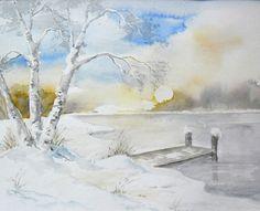 Aquarell / Watercolor - 24 x 32 cm