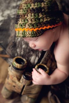 newborn hunting photography - Google Search