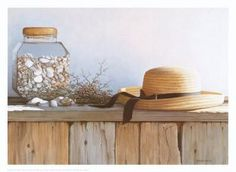 Still Life with Seashells Daniel Pollera Art Print