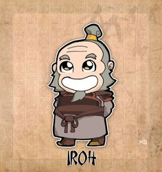 One of my favorite fictional characters of all time.  Uncle Iroh, Dragon of the West