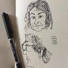 Rapidín de entrenamiento (V). Fast training. #people #sketchingpeople #oneweek100people2017 #uniball #japanese #sketchbook #valencia