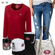 San Francisco 49ers Fashion - Cozy 49ers Sunday