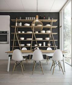 Black & White Dinning Room - Aleso