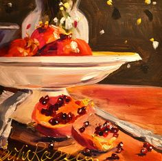 Atelier Cecilia Rosslee: POMEGRANATE PLATE